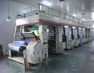 八色电脑印刷机